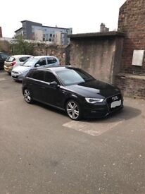 Audi A3 2.0tdi SLINE 2013 sat nav,parking sensors,led day running lights