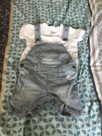 Boys Dungarees Outfit.