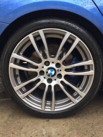 BMW 19inch 403M Alloys & Bridgestone Tyres X4