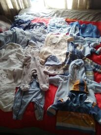 bundle assorted baby clothes