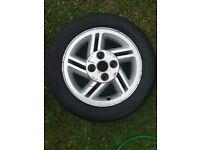 Ford Escort XR3i Dog Leg Alloy Wheel