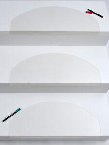 15er Set Stufenmatten Treppenmatten Treppenschoner TRANSPARENT ca.59 x 24 x 3 cm