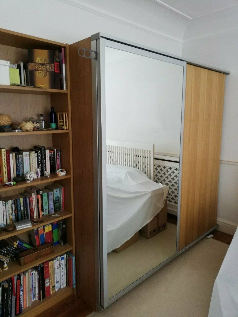 Ikea Sliding Doors For Pax Wardrobe 75 Billy Bookcase 35 6 Draw In Esher Surrey Gumtree