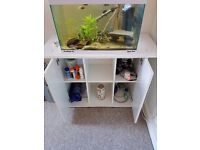 Aqua one Eco style 61 fish tank with stand can be sold separate