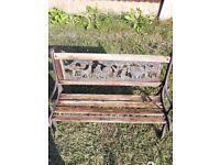 Childrens Unusual Garden Bench