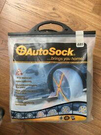 AutoSocks for driving in snow/slush/ice