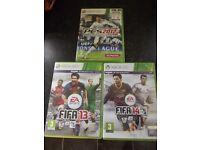 Fifa 13 & 14 Games