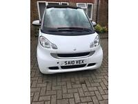 2010 Smart Fortwo passion cdi with sat nav