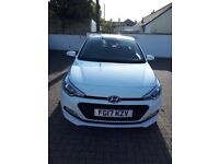 Mint condition Hyundai i20Se, low millage, Hyundai 3 years service plan included