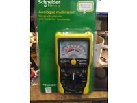 Schneider analogue multimeter new