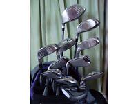 New Fazer XR9 Women's Golf Clubs , exellent condation with 11 clubs