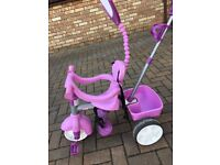 Little tykes pink trike hardly used
