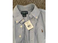 Genuine Ralph Lauren boys shirt with tags