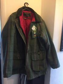 Walker and hawked ladies country tweed coat new with tags size 18
