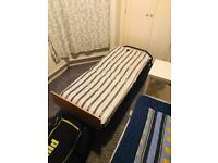 Fold-away guest bed