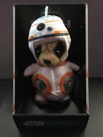 Limited Edition Oleg Meerkat as Star Wars BB-8