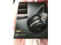 SONY MDR - HW 700DS WIRELESS SURROUND HEADPHONES