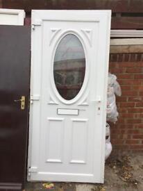 White pvcu door for sale £35.00