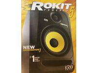 KRK Rokit RP5 G3 Active Monitor, Single