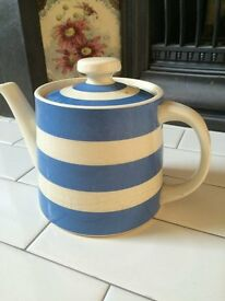 T G Green Cornish Ware Tea Pot