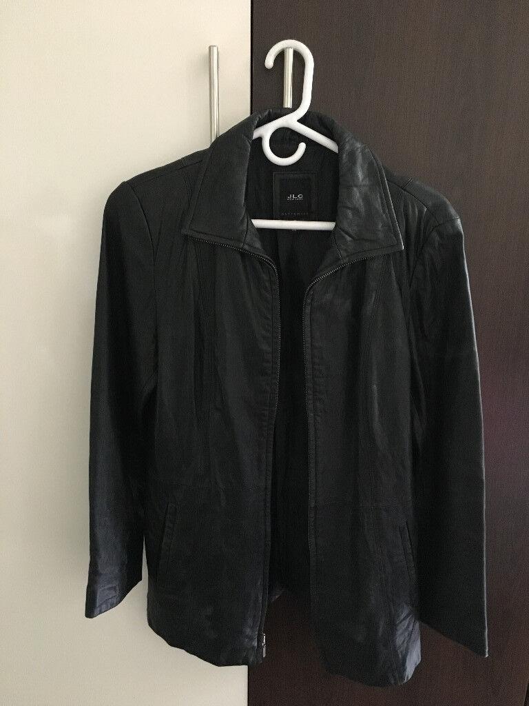 Genuine Ladies Leather Jacket - Size M