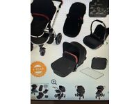 Ickle Bubba Stomp v3 all in one travel system Black (brand new in box)