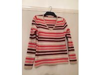 Pure Cashmere Jumper Size 8 John Lewis brand
