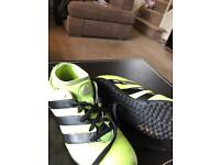 Adidas sock boots AstroTurf 3G pitch boots Size 1 kids