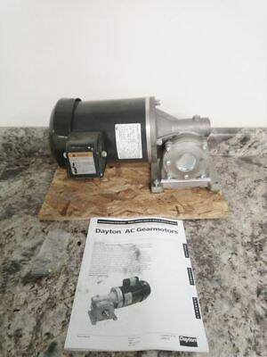 Dayton 4cvy7 34 Input Hp 68 Rpm 208-230460v 537 In-lb Max Torque Ac Gearmotor