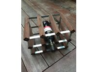 9 bottle wine rack for sale