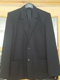 Boys black school blazer