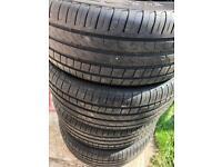 255/45/20 Pirelli x4 tyres
