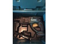 Makita sds drill +case used once 120ono