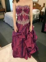 Sweetheart Strapless Prom Dress - Size 5/6