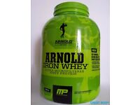 MUSCLEPHARM ARNOLD IRON WHEY PROTEIN 2.27kg - 70 servings !!!