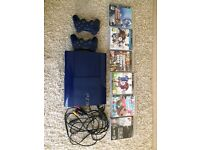 PS3 blue (blue limited edition slimline)
