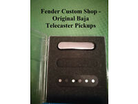 Fender custom shop Baja telecaster pickups