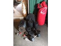 Weight Plates, Discs, Weight Training, Lose Weights, Punch Bag, Dumb Bar