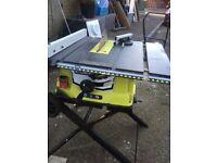 Ryobi bench/table saw