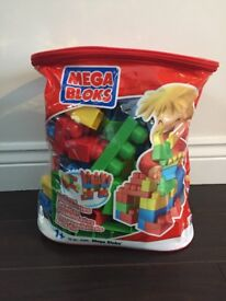 Bag of Megablox bricks