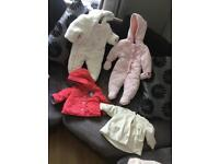 Baby Girl Snow Suits and Coats