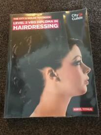 Hairdressing level 2 diploma book