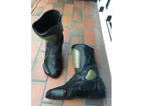 Men's Armoured Motorcycle Boots