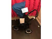 Bugaboo buffalo with seat & carrycot