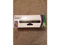 Xbox 360 kinect sensor boxed no game