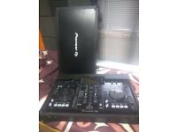 XDJ RX with official czas, warranty rekordbox