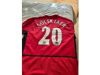 Signed Manchester United football Shirt