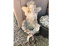 Garden fairy ornament