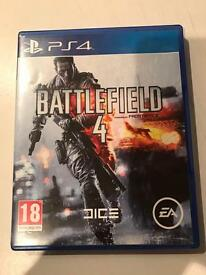 battlefield 4 , ps4 , as new ! price stands , no offers !