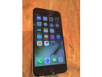 Apple Iphone 6 Space Grey 64gb - unlocked - with case £200 ono